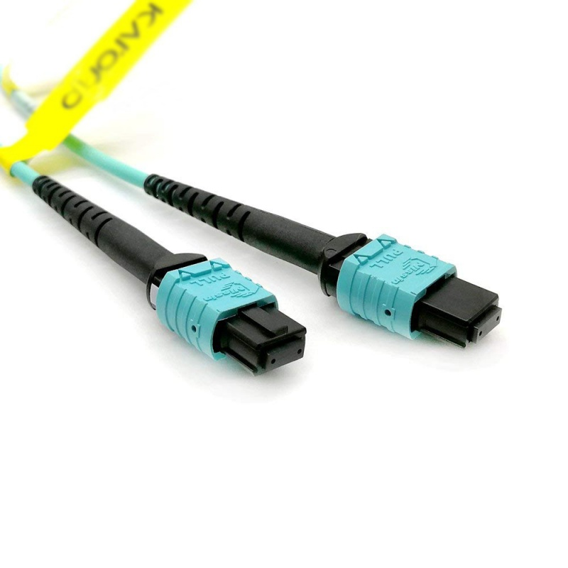 -12806 MPO Female to 4 LC Duplex 8 Fibers OM3 50//125 Multimode TYPE B Cable 5m